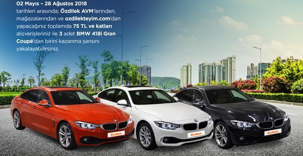 Özdilek'ten 3 kişiye BMW