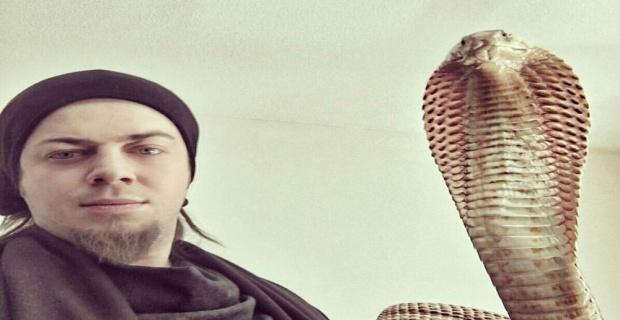 Aref'i yılanı ısırdı: Hayati riski var