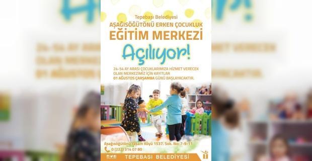 Aşağısöğütönü Erken Çocukluk Eğitim Merkezi hizmet vermeye başlayacak