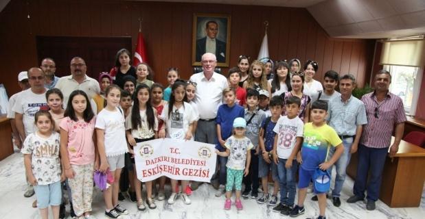 Başkan Kurt öğrencilere Eskişehir'i anlattı