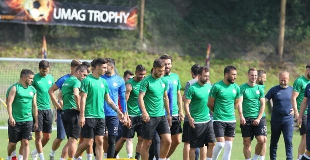 Çaykur Rizespor yeni sezon hazırlıklarını Slovenya'da sürdürüyor