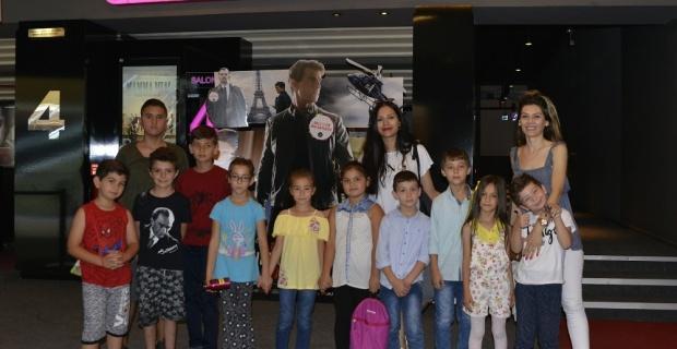 Çocuklar için ücretsiz sinema etkinliği