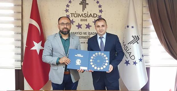 Eskişehir Vergi Dairesinden TÜMSİAD'a ziyaret