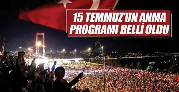 Eskişehir'de 15 Temmuz programı belli oldu