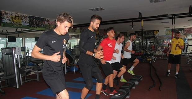 Eskişehirspor fitness ve aerobik çalıştı
