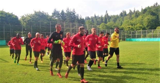 Eskişehirspor'un Bolu kampı devam ediyor