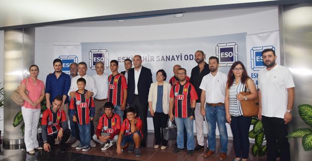 ESO yönetiminden Eskişehirspor için en anlamlı destek