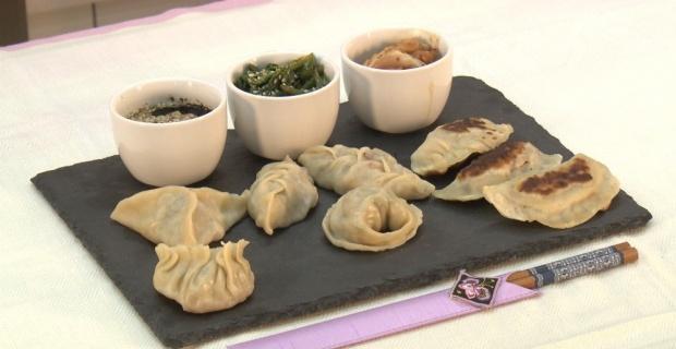 Gastronomi Bölümü öğretim elemanları Kore yemekleri finalinde