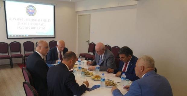 İç Anadolu Belediyeler Birliği Encümen Toplantısı gerçekleştirildi