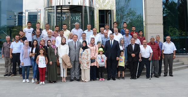 Karacan, Günyüzülüleri Ağırladı