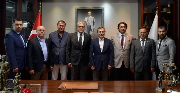 Küpeli'den başkan Ataç'a ziyaret