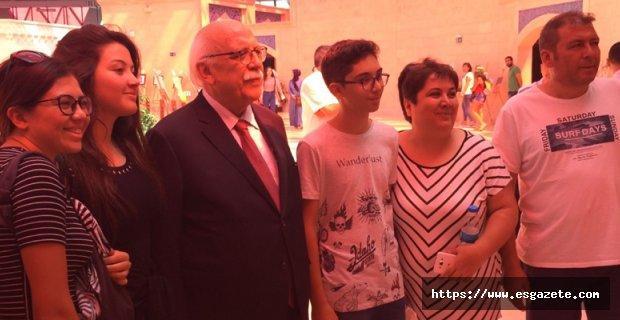 Nabi Hoca, Türk Dünyası Toplantısı'na katıldı