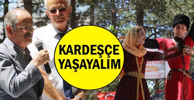 Nartlanı Toy Künü Festivali Eskişehir'de kutlandı