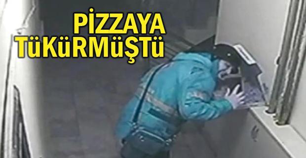 Pizzaya tüküren kurye için ne karar çıktı
