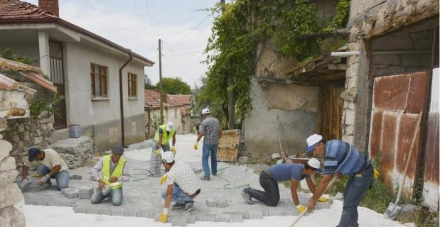 Seyitgazi Belediyesi Sancar'da çalışmalarını sürdürüyor