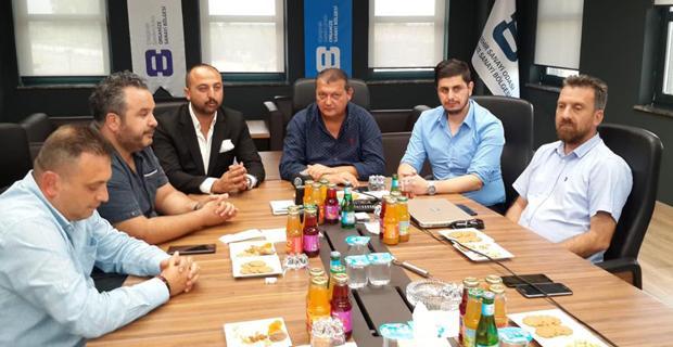 Taraftar Komitesi EOSB'yi ziyaret etti