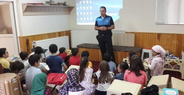 Toplum Destekli Polisten çocuklara güvenli yaşam eğitimi