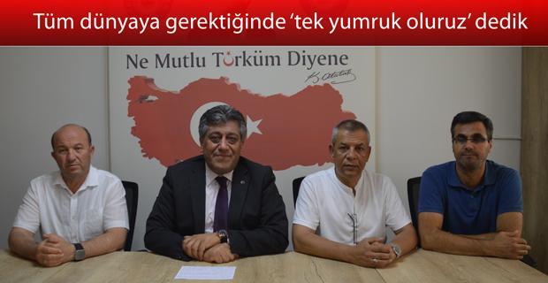 Türkiye Kamu Sen'den 15 Temmuz mesajı