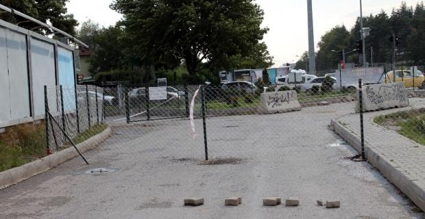 Yolun telle kapanmasına belediyeden açıklama