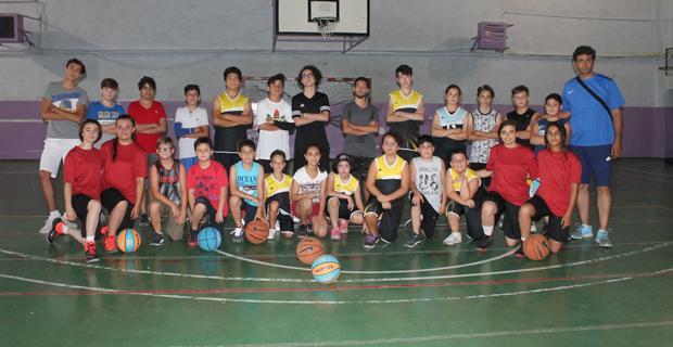 Basketbol Yaz Okulu'nda 70 sporcu