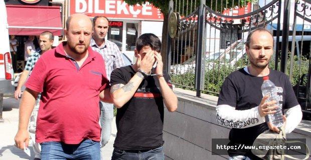 Eskişehir'de hırsızlık yapan şahıs Antalya'da yakalandı