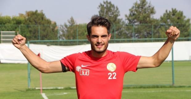 Eskişehirspor'un genç yıldızı yeni sezona hazır