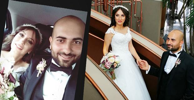 Selin ve Muhammet'in mutlu günü