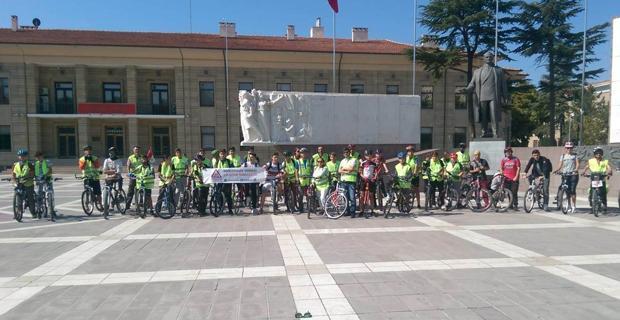 Dünya Sepsis Günü için pedallar çevrildi