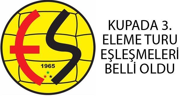 Eskişehirspor'un rakibi belli oldu