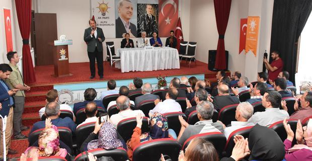 Karacan Alpu'da samimiyet vurgusu yaptı