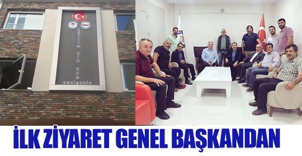 Genel Başkan Ali Yalçın Eskişehir'de