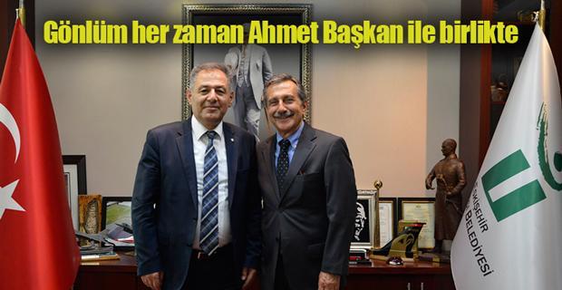 Öztekin'den Ataç'a veda ziyareti