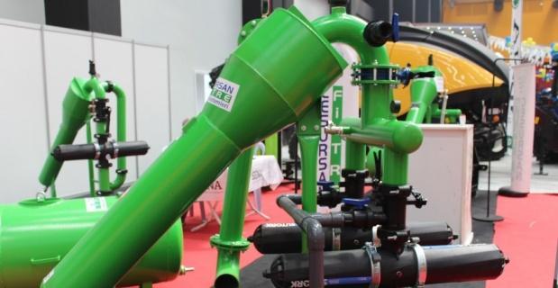 Tarımsal sulamada yeni sistem filtre kolaylığı