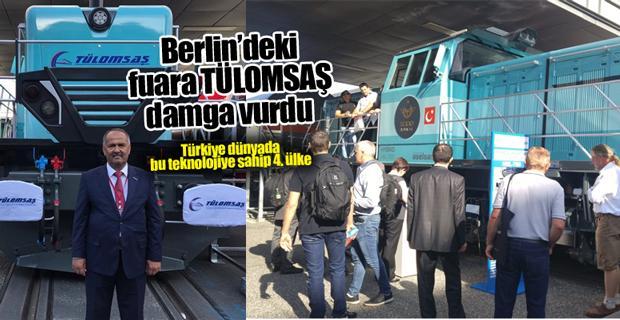 TÜLOMSAŞ Hibrit Lokomotifi Almanya' da tanıttı