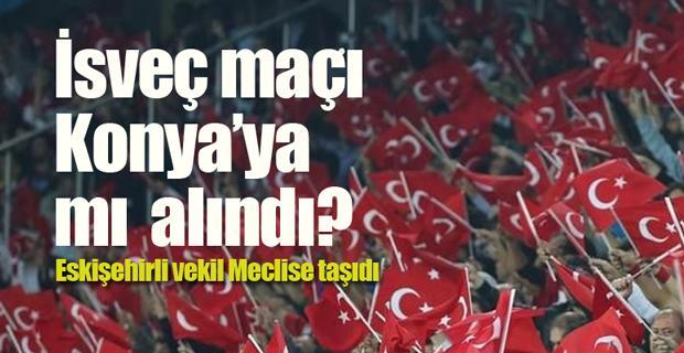 Türkiye-İsveç maçının Konya'ya alınacağı iddiası