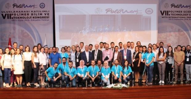 Uluslararası 7'nci Polimer Bilim ve Teknoloji Kongresi ESOGÜ'de tamamlandı