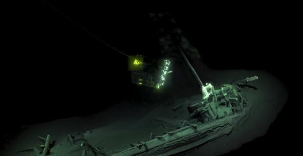 Dünyanın en eski gemi enkazı Karadeniz'de bulundu