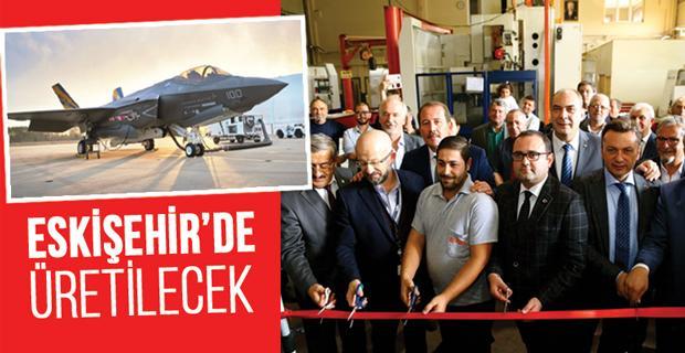 F-35 savaş uçağının parçaları üretilecek