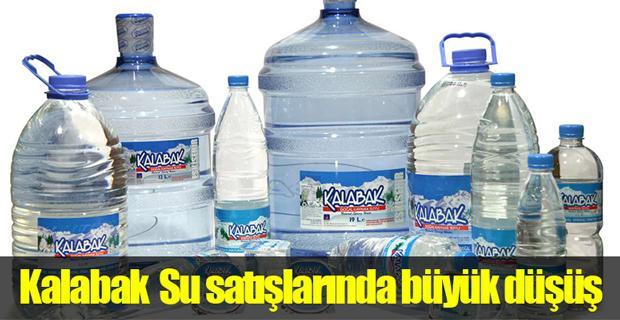 Eskişehir'de su satışları düştü