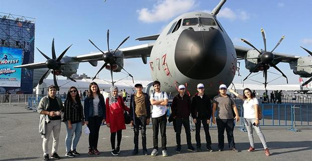 Eskişehirli gençler İstanbul'da teknolojiyle buluştu