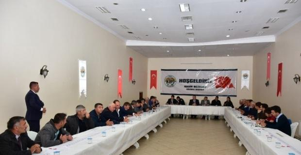İnönü'de 50'nci Muhtarlar Toplantısı
