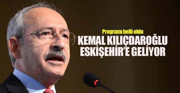 Kılıçdaroğlu'nun Eskişehir programı netleşti