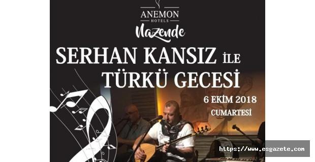 Nazende'de Türkü Gecesi
