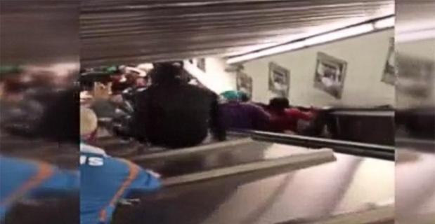 Roma'da yürüyen merdiven kazası: 30 yaralı