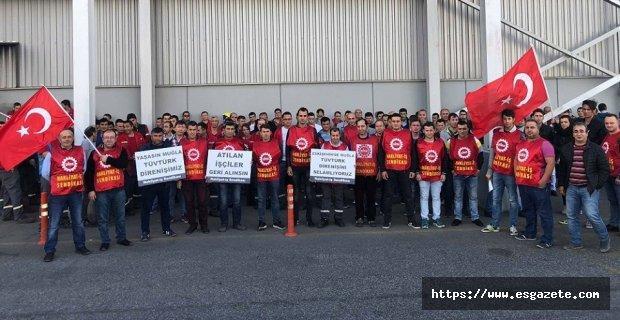 Sarp Havacılık işçilerinden TÜVTÜRK direnişine destek!