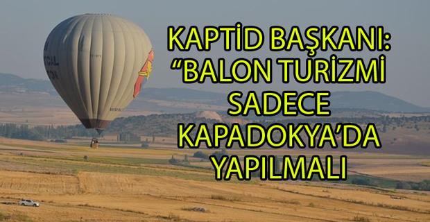 Seyitgazi'nin balon turizmine Kapadokya'dan tepki