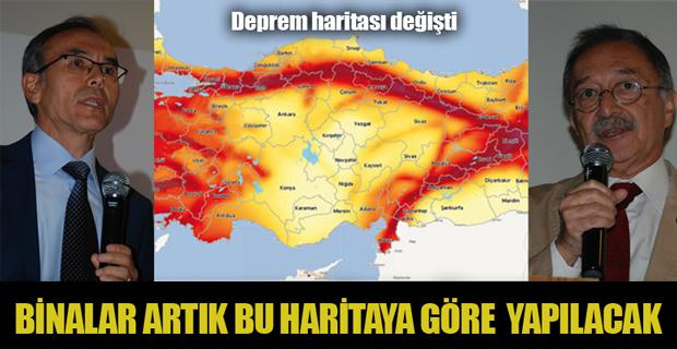Yeni deprem haritası 2019 yılında kullanılacak