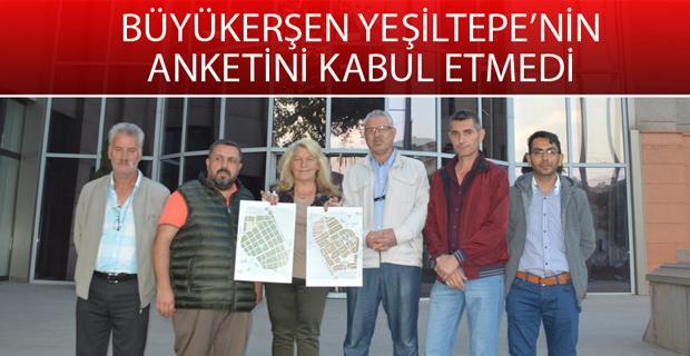 Yeşiltepe imar sorununu Büyükerşen ile görüştü