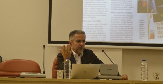 """Anadolu Üniversitesinde """"Algı Yönetimi"""" söyleyişi gerçekleştirdi"""