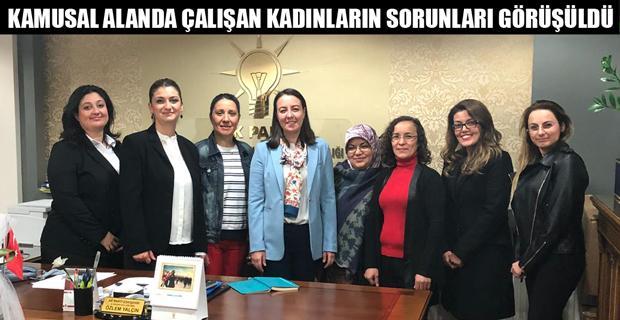 Büro Memur Sen'li kadınlardan Yalçın'a ziyaret